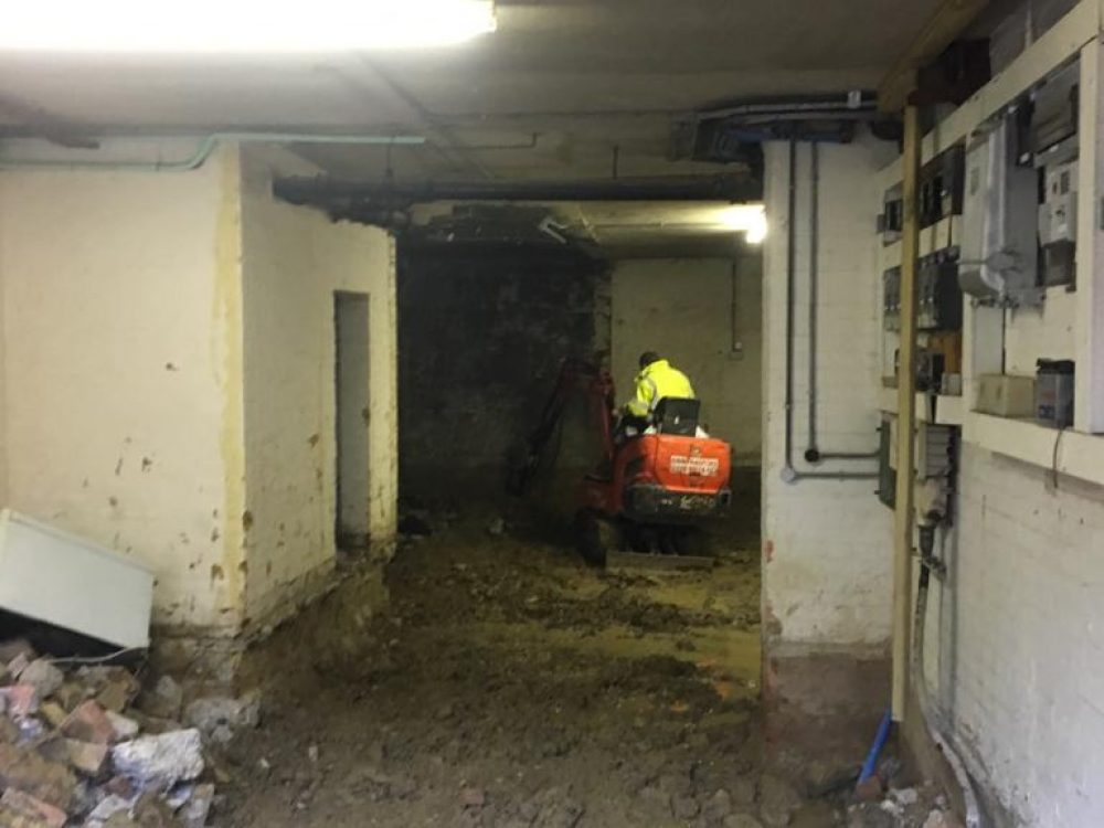 Basement contractors London
