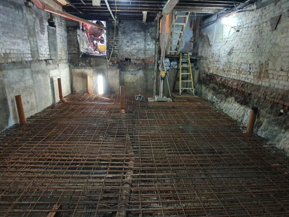 Basement construction London